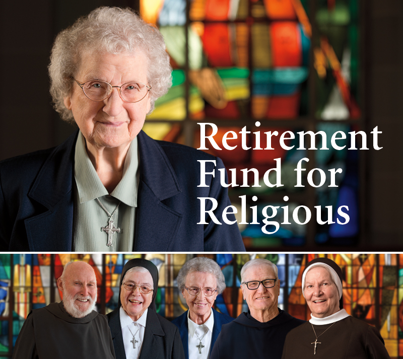 Sister Rosemary Zaffuto is one of six senior religious featured on the 2015 Retirement Fund for Religious campaign materials.