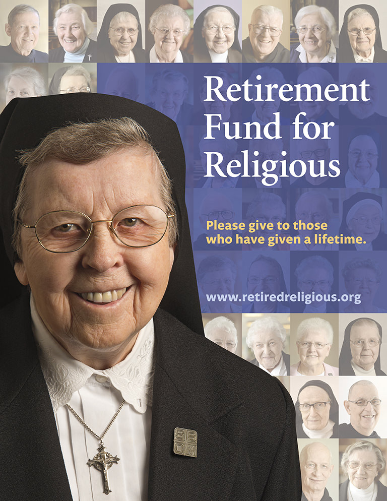 Retirement Fund for Religious 2016 Campaign Image